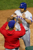 Texas Rangers v St Louis Cardinals  St Louis  MO - Oct 27: Nelson Cruz and Esteban German