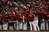 2011 World Series Game 6 - Texas Rangers v St Louis Cardinals  St Louis  MO - October 27