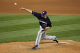Milwaukee Brewers v St Louis Cardinals - Playoffs Game Five  St Louis  MO - October 14: Kameron Loe