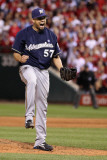 Milwaukee Brewers v St Louis Cardinals - Game Four  St Louis  MO - October 13: Francisco Rodriguez