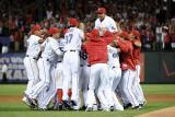 Detroit Tigers v Texas Rangers - Playoffs Game Six  Arlington  TX - October 15: Nelson Cruz
