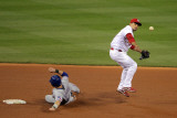 Texas Rangers v St Louis Cardinals  St Louis  MO - Oct 27: Rafael Furcal and Michael Young