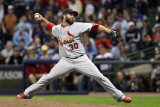 St Louis Cardinals v Milwaukee Brewers - Playoffs Game Six  Milwaukee  WI - October 16: Jason Motte