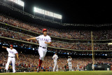 Detroit Tigers v Texas Rangers - Game Six  Arlington  TX - Oct 15: Adrian Beltre and David Murphy
