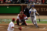 Texas Rangers v St Louis Cardinals  St Louis  MO - Oct 27: Michael Young and Jaime Garcia