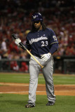 Milwaukee Brewers v St Louis Cardinals - Game Five  St Louis  MO - October 14: Rickie Weeks