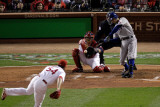 Texas Rangers v St Louis Cardinals  St Louis  MO - Oct 27: Ian Kinsler and Jaime Garcia