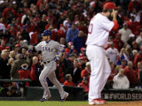 Texas Rangers v St Louis Cardinals  St Louis  MO - Oct 27: Josh Hamilton and Jason Motte