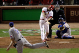Texas Rangers v St Louis Cardinals  St Louis  MO - Oct 27: Lance Berkman and Scott Feldman