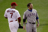 Texas Rangers v St Louis Cardinals  St Louis  MO - Oct 27: Matt Holliday and Josh Hamilton