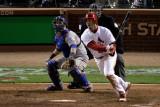 2011 World Series Game 6 - Texas Rangers v St Louis Cardinals  St Louis  MO - Oct 27: David Freese