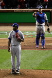 2011 World Series G 6 - Texas Rangers v St Louis Cardinals  St Louis  MO - Oct 27: Neftali Feliz