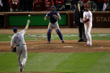 Texas Rangers v St Louis Cardinals  St Louis  MO - Oct 27: Albert Pujols and Scott Feldman