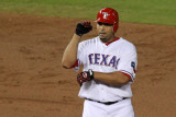 Detroit Tigers v Texas Rangers - Playoffs Game Six  Arlington  TX - October 15: Nelson Cruz