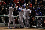 Texas Rangers v St Louis Cardinals  St Louis  MO - Oct 27: Josh Hamilton and Esteban German