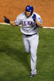 2011 World Series Game 6 - Texas Rangers v St Louis Cardinals  St Louis  MO - Oct 27: Nelson Cruz