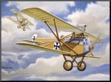 WWI  German Albatross Biplane