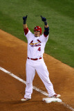 2011 World Series Game 7 - Rangers v Cardinals  St Louis  MO - October 28: Yadier Molina