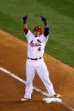 2011 World Series Game 7 - Rangers v Cardinals  St Louis  MO - October 28: Yadier Molina