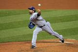 2011 World Series Game 7 - Rangers v Cardinals  St Louis  MO - October 28: CJ Wilson