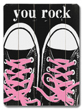 You Rock - Pink Laces