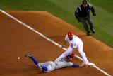 Game 7 - Rangers v Cardinals  St Louis  MO - October 28: Ian Kinsler and Albert Pujols