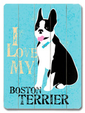 I Love My Boton Terrier