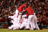 2011 World Series Game 7 - Texas Rangers v St Louis Cardinals  St Louis  MO - October 28
