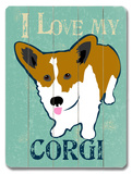 I Love My Corgi