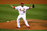 2011 World Series Game 7 - Rangers v Cardinals  St Louis  MO - October 28: Jason Motte