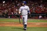 2011 World Series Game 7 - Rangers v Cardinals  St Louis  MO - October 28: Mike Napoli