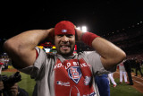 2011 World Series Game 7 - Rangers v Cardinals  St Louis  MO - October 28: Albert Pujols