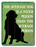 The average dog
