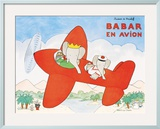 Babar en Avion