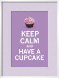 Lavender Cupcake