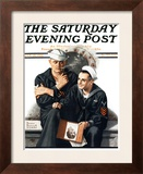 """Thinking of the Girl Back Home"" Saturday Evening Post Cover  January 18 1919"