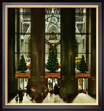 """St Patrick's Cathedral at Christmas "" December 3  1949"