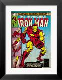 Marvel Comics Retro: The Invincible Iron Man Comic Book Cover 126  Suiting Up for Battle (aged)