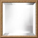 Biltmore Gold Square Mirror
