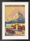 Many Glacier Hotel  Glacier National Park  Montana