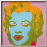 Marilyn Monroe  1967 (pale pink)