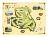 Golf Course Map  Augusta