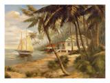 Key West Hideaway Reproduction d'art par Enrique Bolo