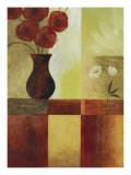 Red Flower Window I