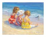 Three Little Maids Reproduction d'art par Lucelle Raad