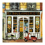 Boulangerie and Red Scooter