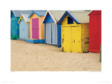 Brighton Bathing Boxes  Victoria  Australia