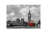 Red Buses By Big Ben