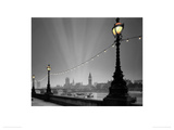 England  London: Evening over Houses of Parliament I
