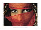 Veiled Tunisian Woman